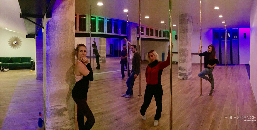 studio cours de pole dance paris rue saint-maur
